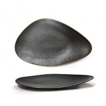 порцеланово плато ANTIQUE BLACK 24 см