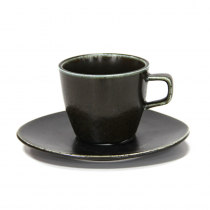 сервиз за чай и кафе ANTIQUE BLACK