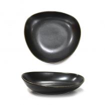 дълбока порцеланова чиния ANTIQUE BLACK 28 см