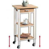 Кухненска количка регулируема