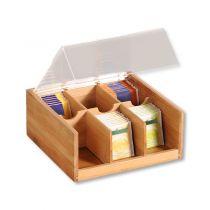 KESPER бамбукова кутия за чай 6070 - Pochehli