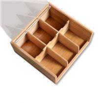 Кутия за чай с прозрачен капак KESPER 6940 - Pochehli