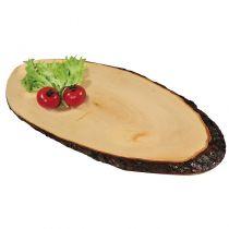 Овална дъска за сервиране от елша KESPER