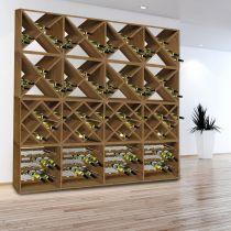 Дървена поставка за бутилки KESPER 13126 - Pochehli