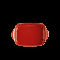 Керамична тава 30 см червена