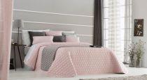 шалте за спалня в розово