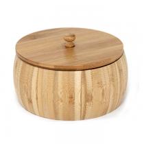 бамбукова купа с капак 23 см