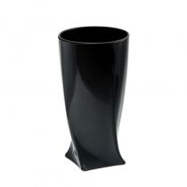 чаши за вода QUADRO черни BOHEMIA CRYSTALITE