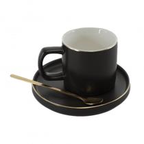 керамична чаша за кафе Злато