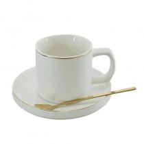 Злато керамична чаша за кафе 245792