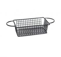 черна метална кошничка за сервиране