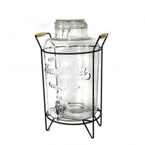 диспенсър за напитки с метална стойка 8,5 литра
