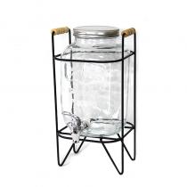 диспенсър за напитки с метална стойка 8 литра