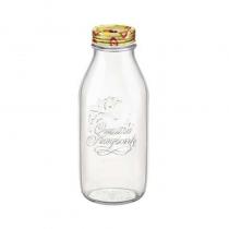 бутилка QUATTRO STAGIONI с капаче 1 литър BORMIOLI ROCCO