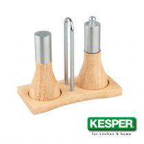 комплект мелничка за пипер и солница Kesper