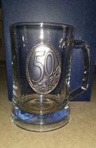халба за бира юбилей 50 години