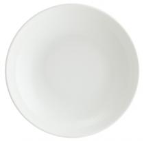 бяла порцеланова чиния