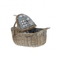 кошница за пикник за двама от ратан 6085 - Pochehli