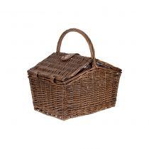 кошница за пикник от ратан за двама 6255 - Pochehli