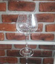 гравирани чаши за червено вино Viola