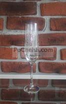 гравирани чаши за шампанско Bohemia