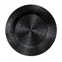 подложна чиния WICKED черна