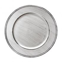 подложна чиния VINTAGE сребриста
