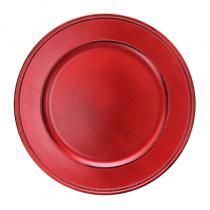 подложна чиния VINTAGE червена