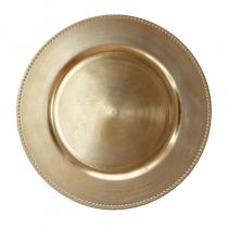 подложна чиния OLD FASHIONED златиста