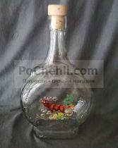 бутилка за ракия бъклица елен