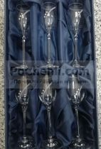 чаши за ракия с кристали Swarovski