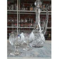 кристални чаши за коняк Моника 250 мл 10512 - Pochehli