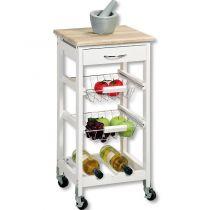 кухненска количка дъб санома