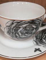 сервиз за чай черна роза