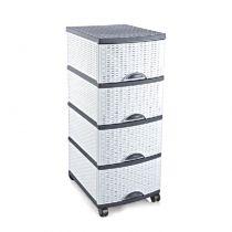 шкаф с 4 чекмеджета и колелца