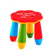детско столче цвете червено