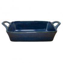 керамична тавичка за печене синя