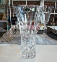 кристална ваза Christie 25.5 см