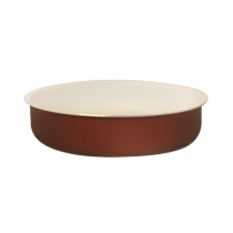 кръгла тава TANGO 28 см кафява