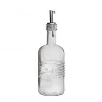 стъклена бутилка за оцет зехтин OLD FASHIONED