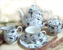 Сервиз за чай Дамаск, Claytan