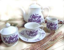 Сервиз за чай Лилав разкош, Claytan