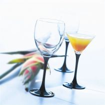 Чаши за мартини Luminarc Domino, 4 броя * 140 мл