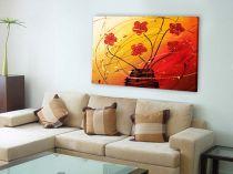 """Картина пано """"Танцът на цветята"""", 100 * 70 см 7701 - Pochehli"""