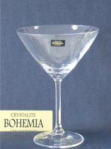 Комплект 6 бр. чаши за мартини, Crystalite Bohemia 6169 - Pochehli