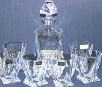 Чаши за уиски Бохемия Куадро 10128 - Pochehli