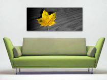 "Картина пано ""Кленов лист"", жълт, 130 * 55 см 5698 - Pochehli"