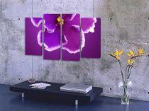 """Картина пано """"Лилаво цвете"""", 120 * 70 см"""