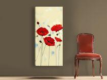 """Картина пано """"Макове"""", 50 * 110 см"""