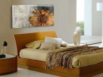 "Картина пано ""Есенно цвете"", жълт, 140 * 60 см 7671 - Pochehli"